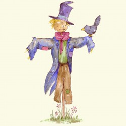 A Lovely Scarecrow