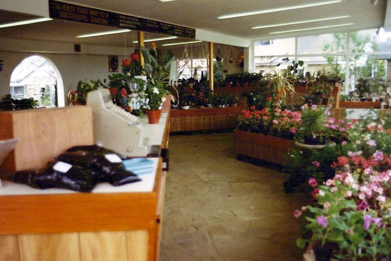Inside The Modern Showrooms - Way Before Garden Centres Had Been Thought About!