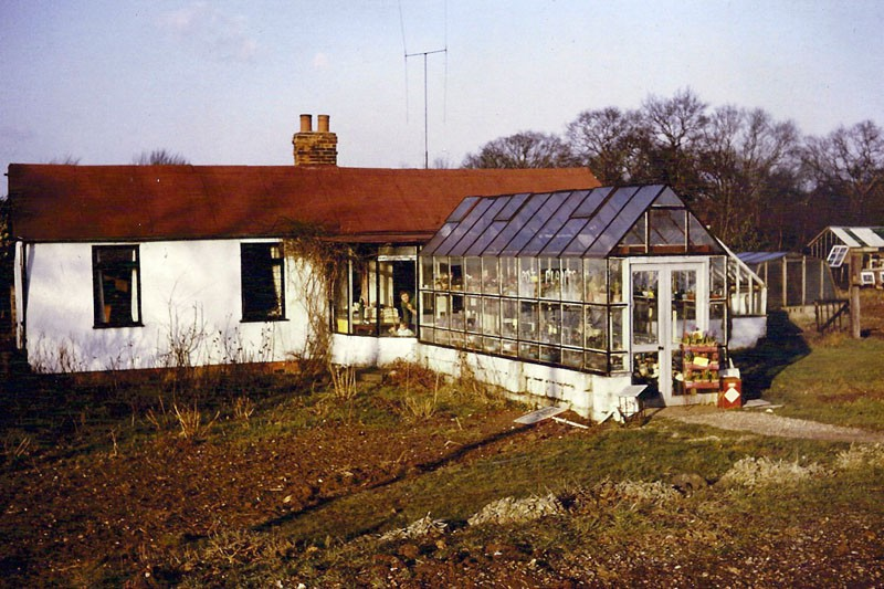 The Property We Moved To In Challock. 1963
