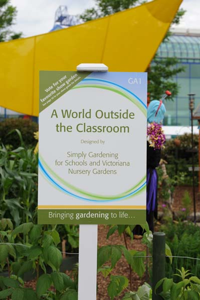 A World Outside The Classroom Show Sign