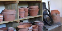 Image of a Victorian potting shed.